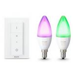 Philips Hue – 2x E14 Lampen + Dimmschalter um nur 69,99 €