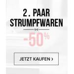 Hunkemöller: 2. Paar Strumpfware & Socken 50% reduziert