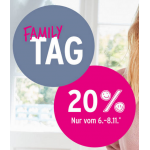 Ernsting's family: 20% Rabatt auf ALLES (bis 28.10.)