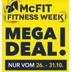 McFit Fitness Week – Jahresmitgliedschaft um 184,40 € statt 297,80 €