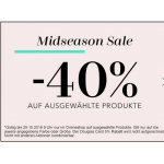 Douglas Onlineshop: Midseason SALE mit bis zu 40% Rabatt