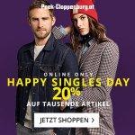 Peek&Cloppenburg Singles Day – 20 % Rabatt auf tausende Artikel