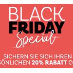 Depot Black Friday Special: 20 % Rabatt auf euren Einkauf