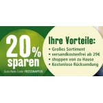 Fressnapf Onlineshop – 20 % Rabatt auf eure Bestellung (bis 18.11.)