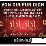Puma Singles Day – 22% Extra-Rabatt auf alle Sale Artikel (bis 11.11.)