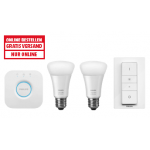 Philips Hue White Ambiance E27 LED Starter Set um 75 € statt 124,55 €
