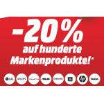 Media Markt Cyber Week – 20% Rabatt auf viele Markenprodukte