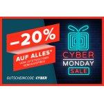 Hervis Cyber Monday – 20 % Rabatt auf (fast) ALLES