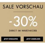 GUESS – 30% Rabatt auf ausgewählte Artikel + kostenlose Tasche