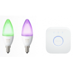PHILIPS Hue White and Color E14 6.5W Starter-Kit um 74 € statt 109,91 €