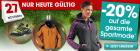 -20% auf die gesamte Sportbekleidung @ OTTO Versand