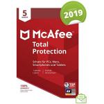McAfee Total Protection 2019 (5 Geräte – 1 Jahr) um 10 € statt 35,60 €