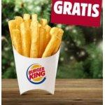 Burger King – kleine Pommes GRATIS – nur heute