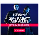Superdry – 20% Rabatt auf alles bis 16.12.2018