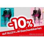 Interspar – 10 % Rabatt auf H&M Gutscheinkarten (bis 2. Jänner 2019)