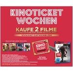 Kinoticket GRATIS beim Kauf von 2 Aktions-Filmen
