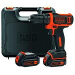 Black&Decker Akku-Bohrschrauber + 2 Akkus 1.5Ah um 56 € statt 91 €