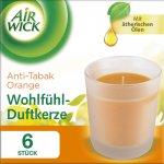 Air Wick Wohlfühl-Duftkerzenset Orange (6 Stück) um 9,05 € statt 17,70 €