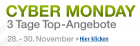 Cyber Monday Angebote: Tag 3 (30. November 2011) @Amazon.de