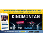 Hollywood Megaplex / Metropol Kinos – Tickets um 5,50 € am Montag