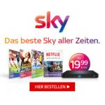 Sky Web Special ab 19,99 € bzw. 34,99 € statt 79,99 € pro Monat!