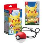 Pokémon: Let's Go, Pikachu! + Pokéball Plus [Nintendo Switch] um 79 €