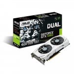 Asus Dual-GTX1060-6G Nvidia GeForce Grafikkarte um 211 € statt 305 €