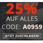 Beate Uhse – 25% Rabatt auf (fast) alles – nur heute!