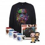 Star Wars Fanpaket (Pulli, 2x Pop Vinyl u.v.m.) um 34,99 € statt 104,49 €