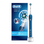 Oral-B Pro 2 2000N + Cross Action 2er Bürsten um 40,99 € statt 82,43 €