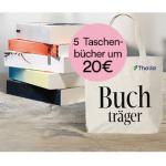 5 Taschenbücher inkl. Tragetasche um nur 20 € – 100 Jahre Thalia Aktion