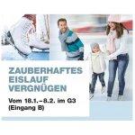 Eislauf-Spass im G3 – Gratis Eislaufen & Schlittschuhverleih!