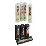 AmazonBasics Ni-MH-Akkus, 4x AA & 4x AAA um 7,01 €statt 15,28 €