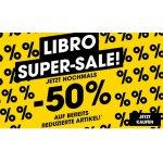 Libro Super Sale – 50 % Extra-Rabatt auf ausgewählte reduzierte Artikel