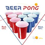 100 Beer Pong Becher + 10 Beer Pong Bälle um 8,39 € statt 13,49 €