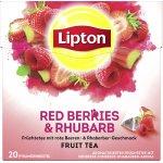 3x Lipton Früchtetee Erdbeere Himbeere Rhababer 20 Beutel um 2,40 €