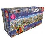 """Educa Puzzle """"Die Weltreise"""" mit 42000 Teilen um 222,21 € statt 339,98 €"""