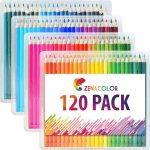 Zenacolor Buntstifte Set (120er Pack) um 14,99 € statt 19,99 €