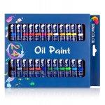 Zenacolor Ölfarben Set – 24 Tuben je 12 ml um 8,97 € statt 13,97 €