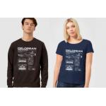 Zurück In Die Zukunft Delorean T-Shirt um 10,99 € statt 22,40 €