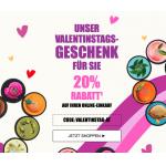 The Body Shop Valentinstag – 20 % Rabatt auf den Online-Einkauf