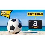 Interwetten Neukunden: 30€ Amazon Gutschein (Mindesteinzahlung 10€)