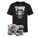 Thor Ragnarok T-Shirt + 2x Pop Vinyl! Figuren um 17,99 € statt 38,37 €