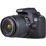 Canon EOS 2000D Spiegelreflexkamera mit Objektiv EF-S 18-55 IS II inkl. Versand um 269 € statt 333 € (neuer Bestpreis)