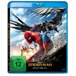 Spider-Man Homecoming auf Blu-ray um 5,55 € statt 12,98 €