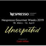 Nespresso Gourmet Weeks – 2-3 Gänge Menüs in Top Restaurants