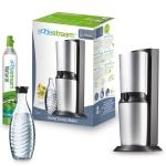 bis 20:15: SodaStream Crystal Wassersprudler inkl. 1 x Alu-Zylinder 60 L und 1 x 0,6 L Glaskaraffe um 66,66€