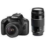 Canon EOS 4000D DSLR inkl. 2 Objektiven um 382 € statt 503,99 €