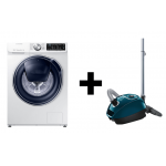 Samsung A+++ Waschmaschine + Bosch Staubsauger um 736€ statt 1204€