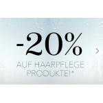 Douglas.at: 20 % Rabatt auf Haarpflege (bis 30.09.)